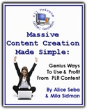 Massive Content Creation Made Simple